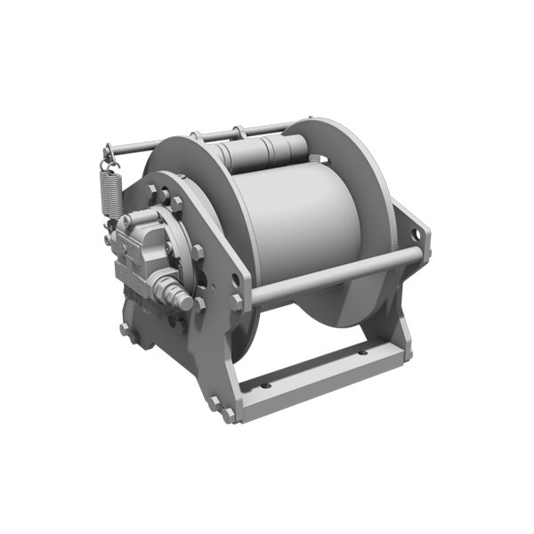 Compact Winches with Axial Piston Motor